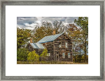 Old Abandoned House Framed Print by Paul Freidlund