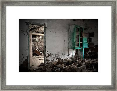 Old Abandoned Kitchen Framed Print by RicardMN Photography