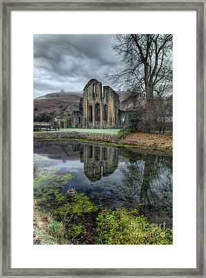 Old Abbey Framed Print by Adrian Evans