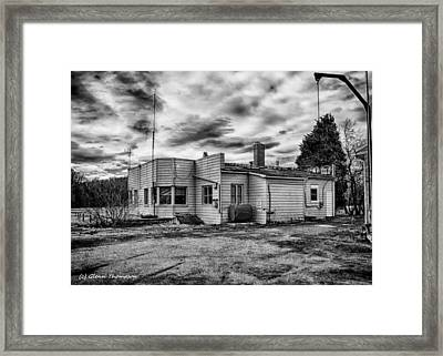 Old Air Park  Framed Print by Glenn Thompson