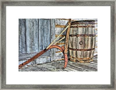 Old Alabama Framed Print by JC Findley