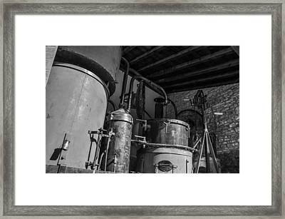 Old Alambic Framed Print by Dany Lison