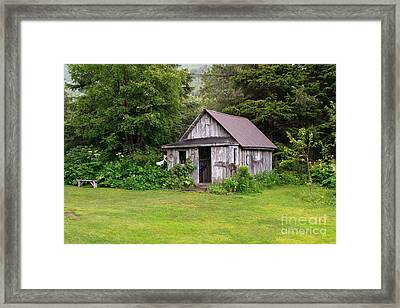 Old Alaskan Building  Framed Print