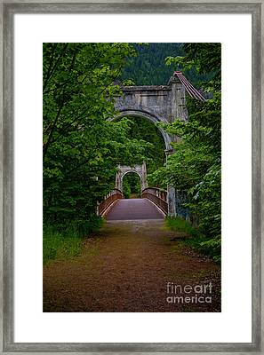 Old Alexandra Bridge Framed Print by Rod Wiens
