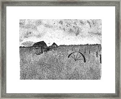 Old And Forgotten Framed Print by Rahul Jain