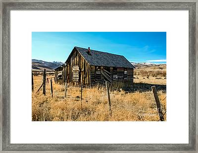 Old And Forgotten Framed Print by Robert Bales