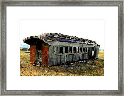 Old And Forgotten Framed Print by Roxann Tempel
