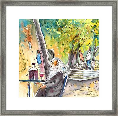 Old And Lonely In Italy 05 Framed Print