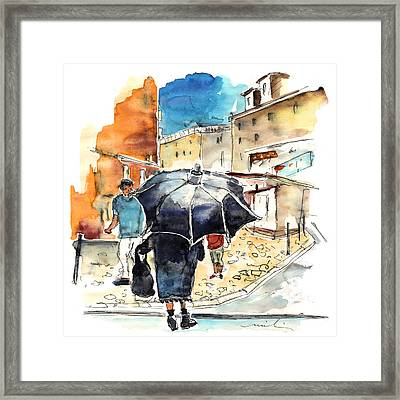 Old And Lonely In Portugal 03 Framed Print by Miki De Goodaboom
