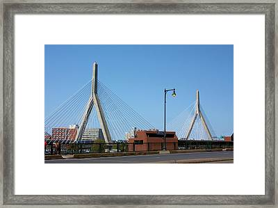 Old And New Boston Framed Print by Kristin Elmquist