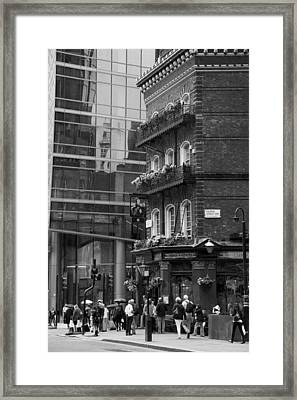 Framed Print featuring the photograph Old And New by Chevy Fleet