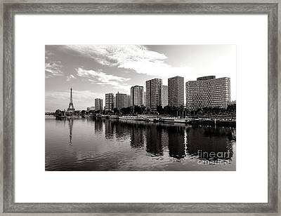 Old And New Paris Framed Print