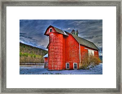 Old And Rugged Framed Print by David Simons