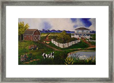 Old And Tired Framed Print by Tim Loughner
