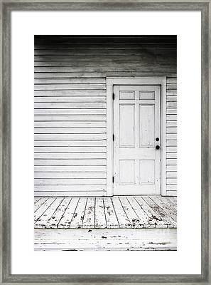 Old And White Framed Print by Margie Hurwich