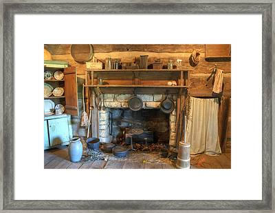 Old Appalpachian Kitchen Framed Print by Paul W Faust -  Impressions of Light