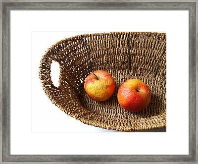 Old Apples Framed Print by Sinisa Botas