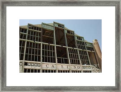 Old Asbury Park Casino Shell Framed Print