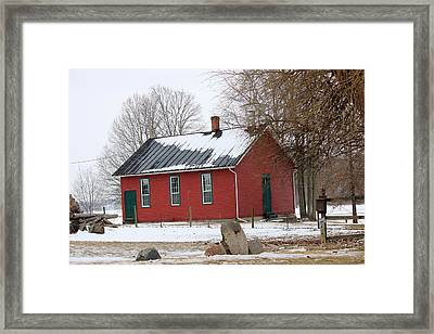 Old Ashland School House Framed Print