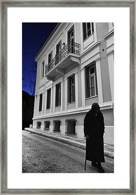 Old Athens Framed Print by Stellina Giannitsi