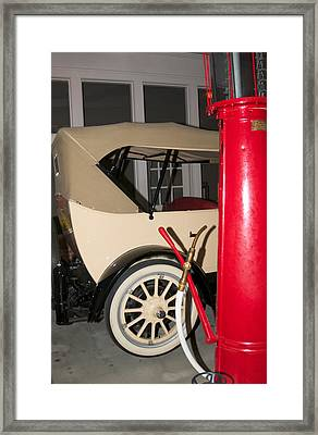 Framed Print featuring the photograph Old Automobile by Bob Pardue
