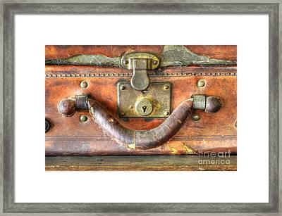 Old Baggage Framed Print by Bob Christopher