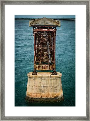 Old Bahia Honda Bridge Framed Print