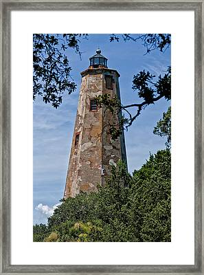 Old Baldy Framed Print by Sandra Anderson