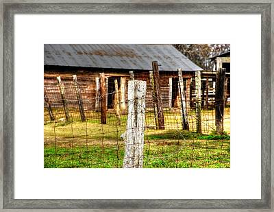 Old Barn 14 Framed Print by Andy Savelle