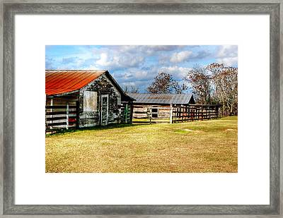 Old Barn 15 Framed Print by Andy Savelle