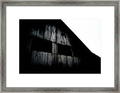 Old Barn 2 Framed Print by Dj Thompson