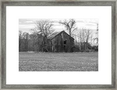 Old Barn Framed Print by Charles Kraus