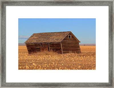 Old Barn Framed Print
