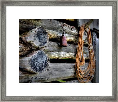 Old Barn Goods Framed Print