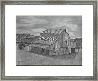 Old Barn II Framed Print