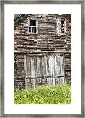 Old Barn In Maine Framed Print by Keith Webber Jr