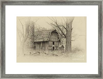Old Barn Framed Print by JRP Photography