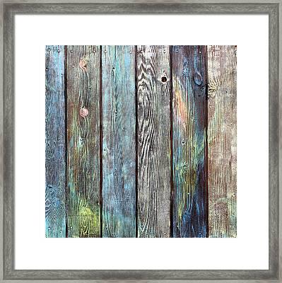 Old Barnyard Gate Framed Print by Asha Carolyn Young