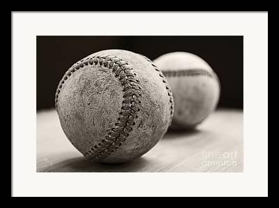 Sports Equipment Framed Prints