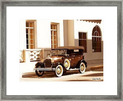 Old Beauty Framed Print
