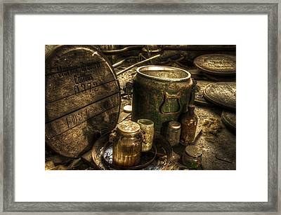 Old Berwery Framed Print by Nathan Wright