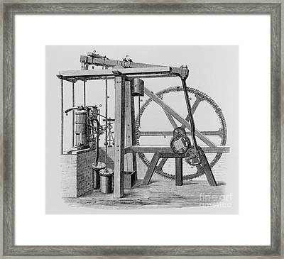 Old Bess Steam Engine Framed Print by SPL and Science Source