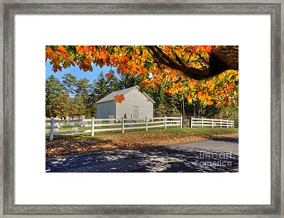Old Bethel Church 1842 Framed Print by Dan Friend