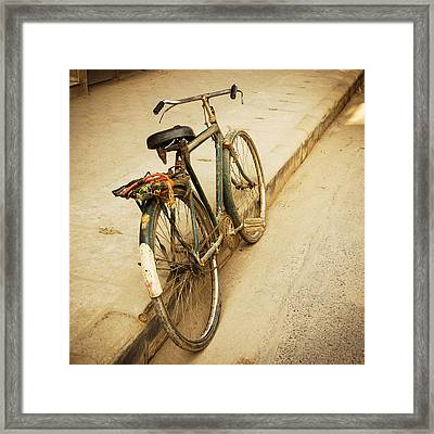 Old Bicycle Framed Print by Dutourdumonde Photography