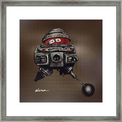 Old Bob Framed Print by Jorge Terrell