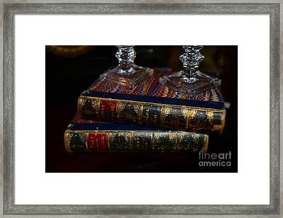 Old Books Framed Print by Paul Ward
