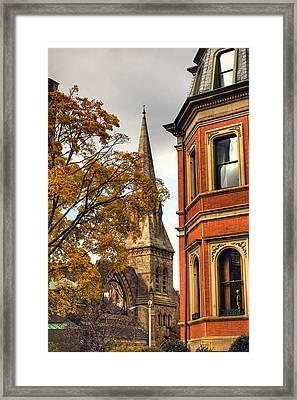 Old Boston Framed Print by Joann Vitali