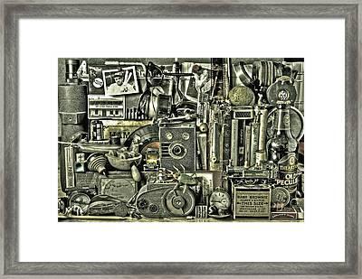 Old Boys Toys Framed Print by Mal Bray