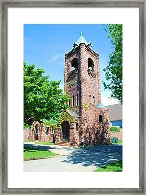 Old Brick Church Framed Print by Richard Jenkins