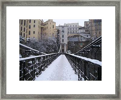 Old Bridge Of Constantine Framed Print
